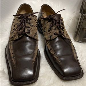 Mauri City Slicker Men's  Dress Oxfords Brown